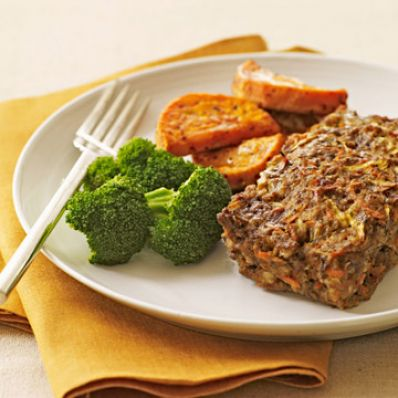 Individual Sweet and Savory Meat Loaf