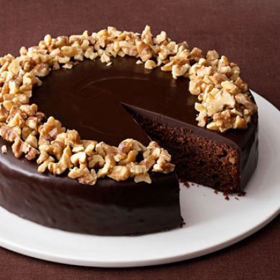 Chocolate Walnut Torte