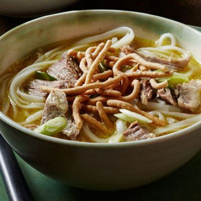 Malaysian Pork Curry Noodle Soup