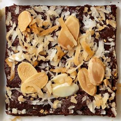 Almond-Coconut Brownies