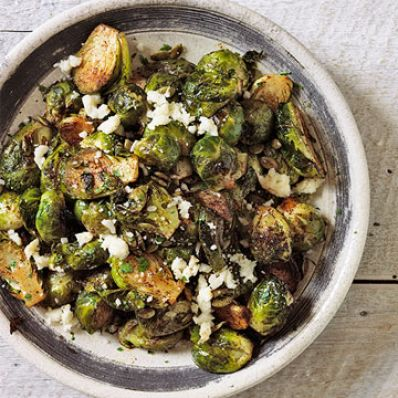 Ancho Chile-Lime Brussels Sprouts