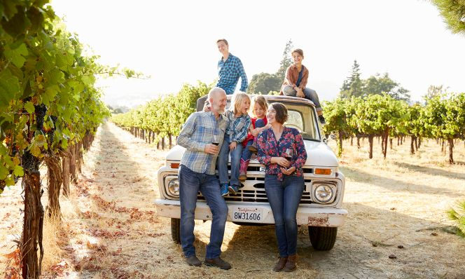 Modern Life Winemaking Family