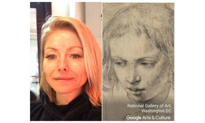 Kelly Ripa Google Arts and Culture