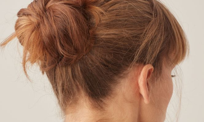 Messy Bun for Date Night