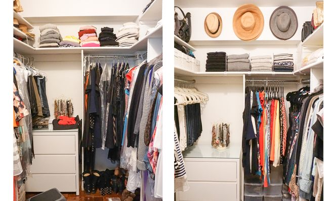 79cd23036ea How to Create the Most Organized (and Pretty) Closet Ever!