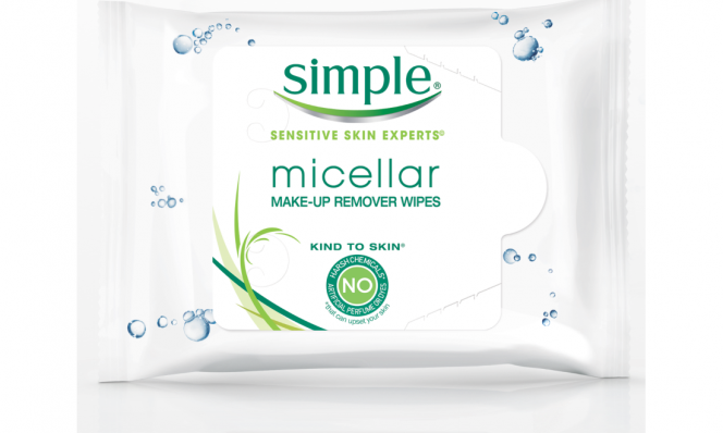Simple Skincare Water Boost Hydrating Cleansing Wipes