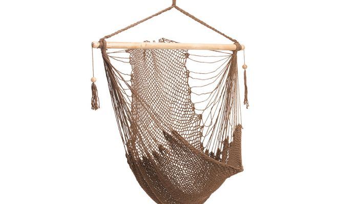 Bliss Hammocks – Island Rope Hammock Chai