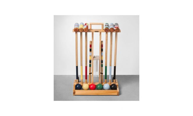 Croquet Set with Cart by Hearth & Hand with Magnolia