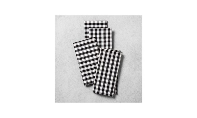 Gingham Napkin by Hearth and Hand with Magnolia