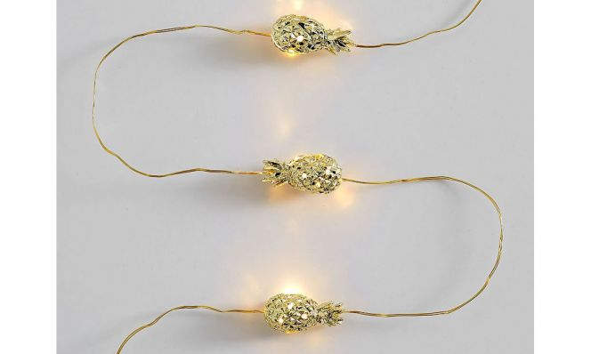 Lilly Pulitzer Pineapple String Lights