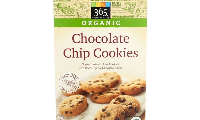 365 Organic Chocolate Chip Cookies