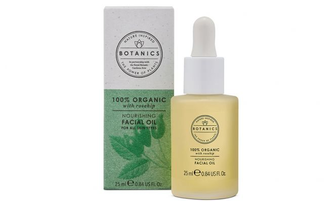 Botanics 100% Organic Nourishing Facial Oil