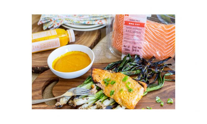 Trader Joe's BBQ Cut Fresh Atlantic Salmon Fillets