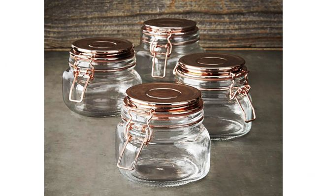 Kinetic Copper Canning Jars