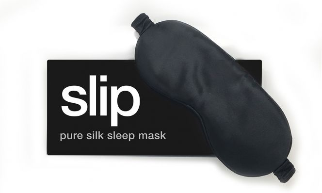 Slip Sleep Mask in Black