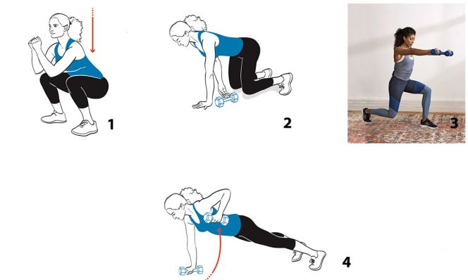 strength circuit exercises