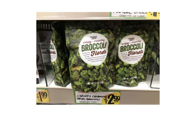 Trader Joe's Crispy Broccoli Florets