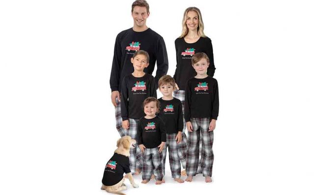 Matching Family & Pet Pajamas