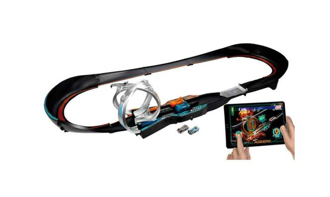 Hot Wheels Augmoto Augmented Reality Racing Track Set