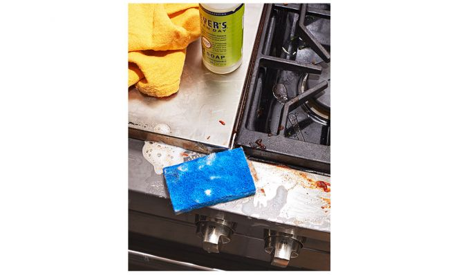 stove and oven cleaning