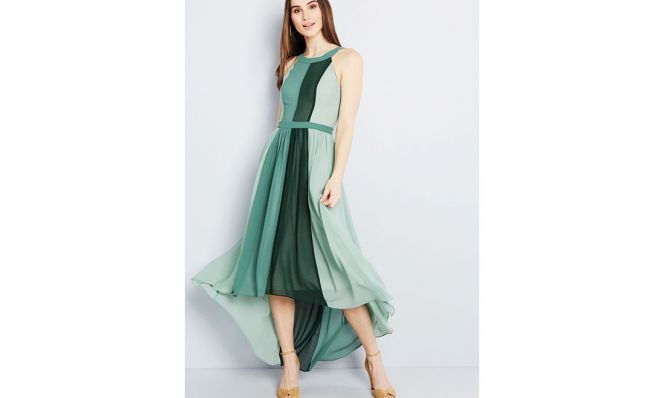 ModCloth Peachy Queen Maxi Dress
