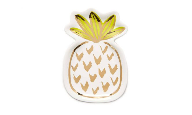 Slant Collections Pinapple Trinket Tray