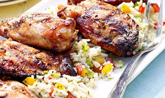 Citrusy Tequila Chicken Thighs