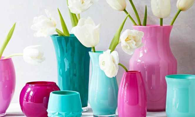 Diy Painted Vases Family Circle